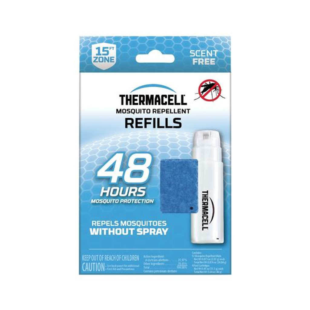Thermacell Mosquito Repellent Refills Value Pack 48 Hour