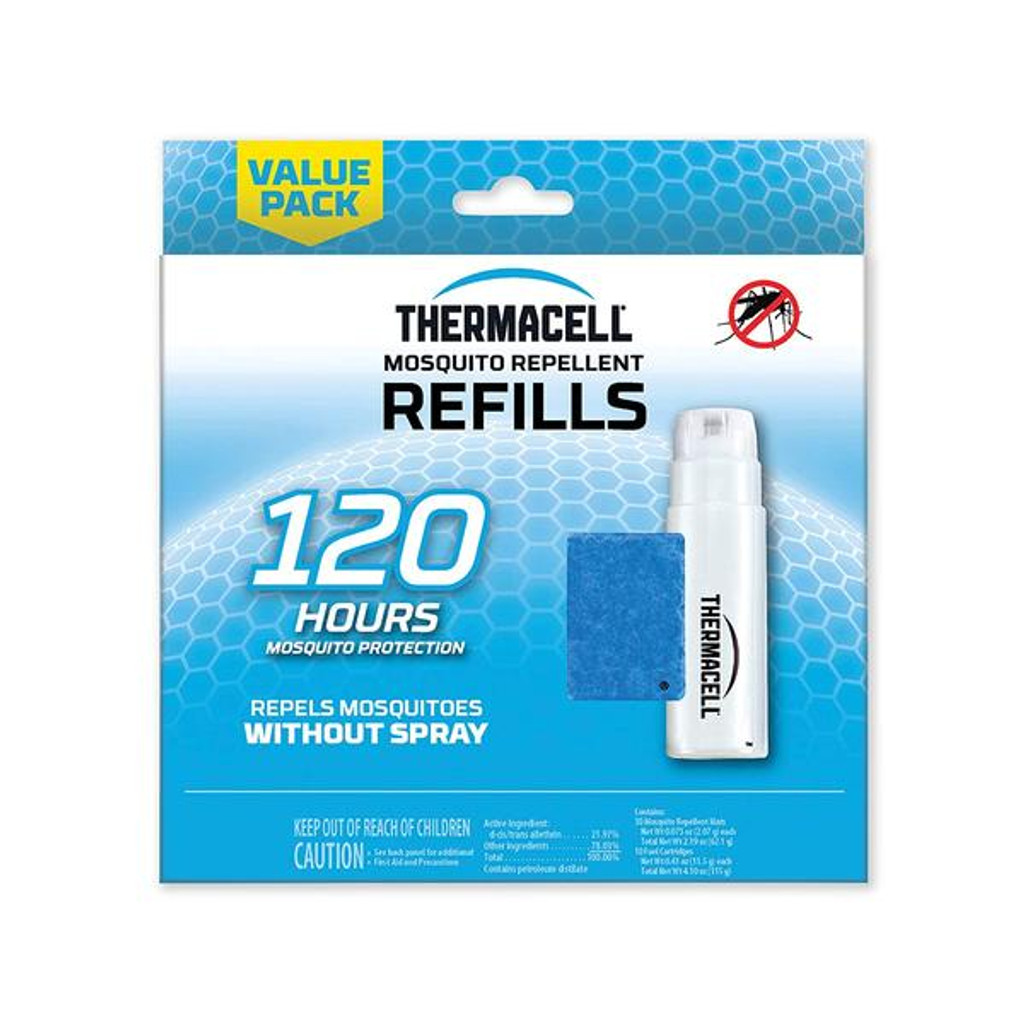 Thermacell Mosquito Repellent Refills Mega Pack 120 Hour