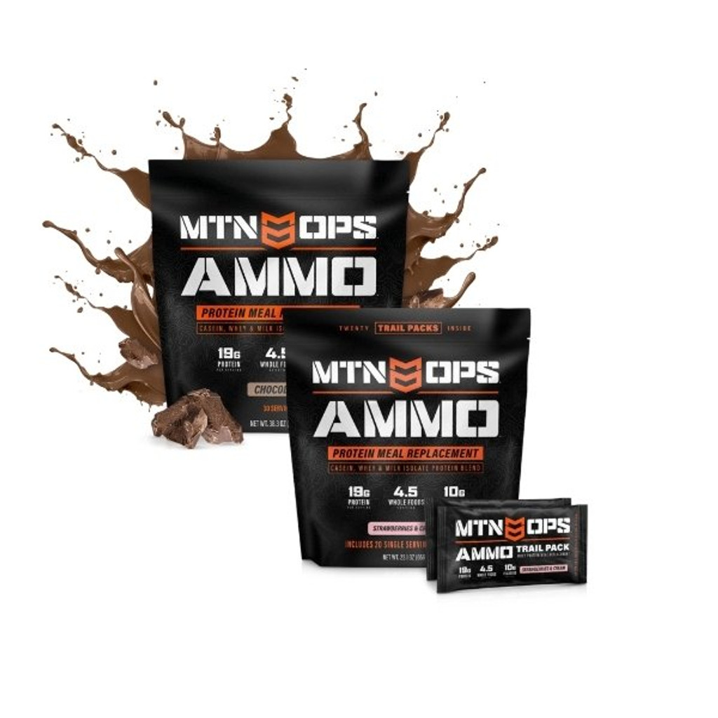 MTN OPS AMMO Whey Protein Meal Replacement