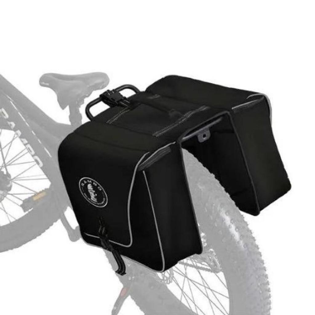 Rambo Double Saddle Accessory Bag Black