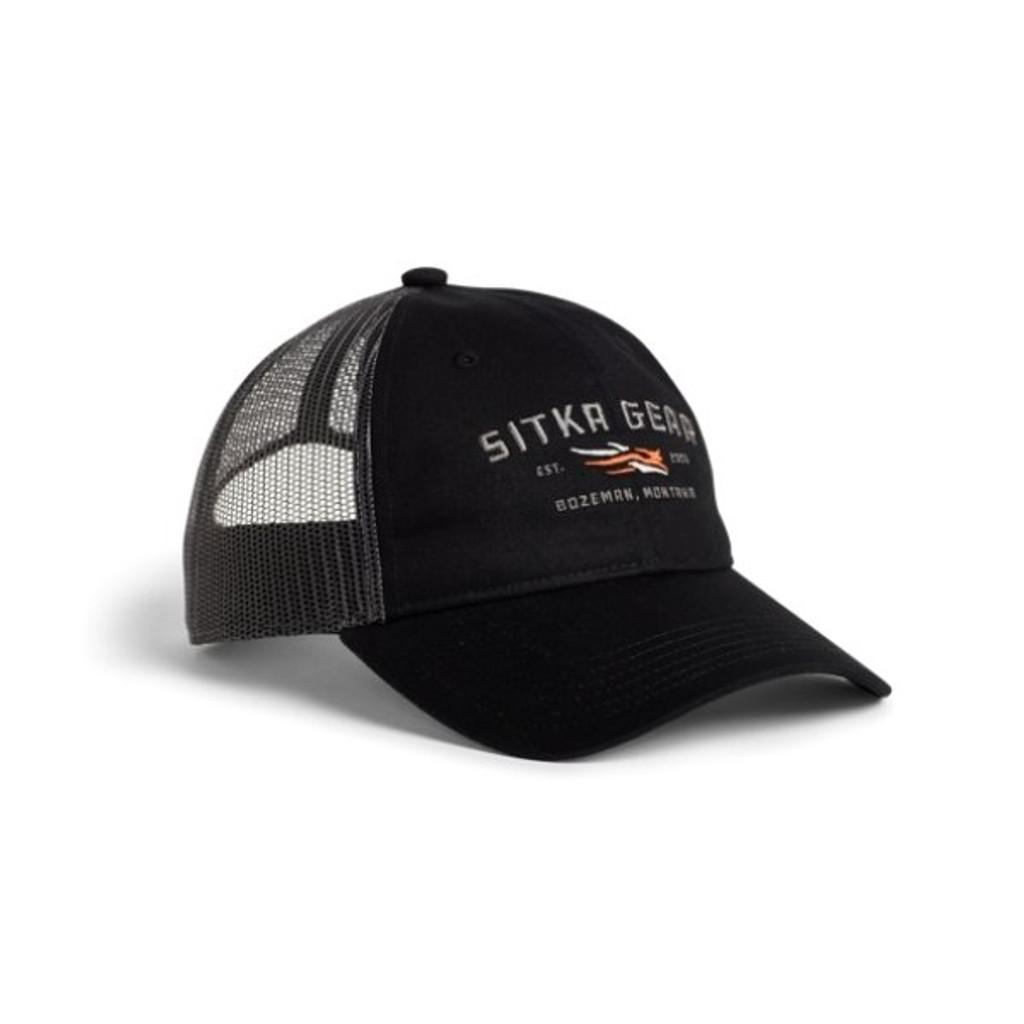Sitka Wordmark Lo Pro Trucker Hat