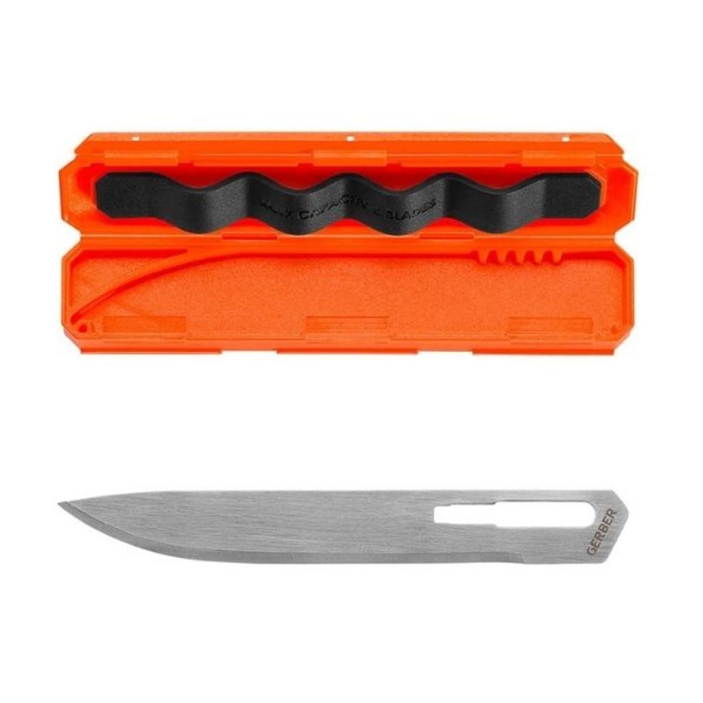 Gerber Vital Big Game Folder Knife Replacement Blades (5 pack)