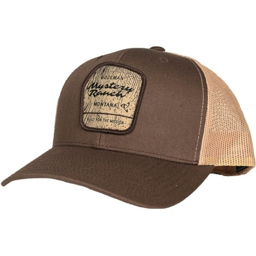 Mystery Ranch Wilderness Trucker Cap Brown