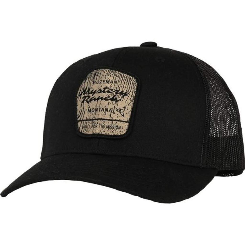 Mystery Ranch Wilderness Trucker Cap Black