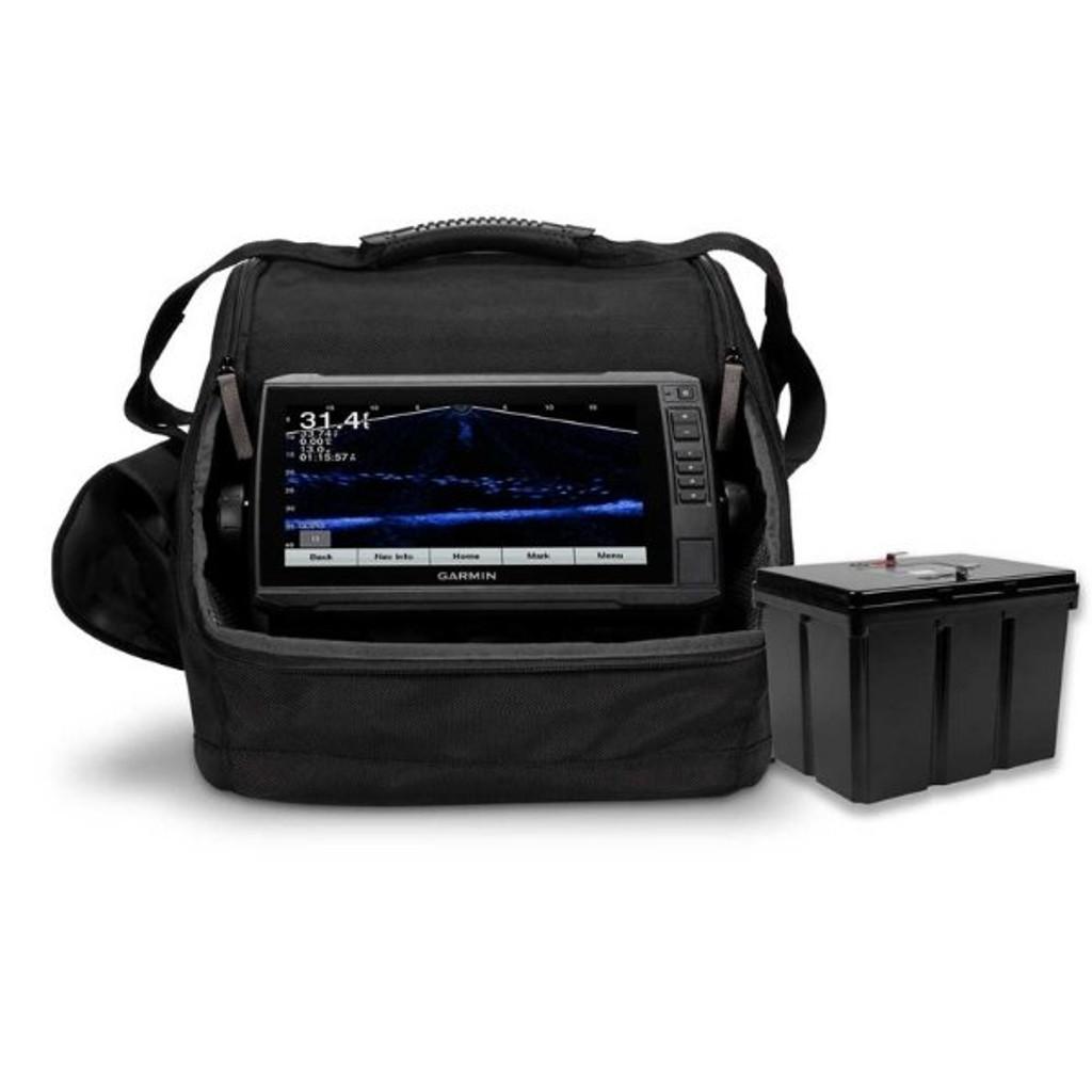 Garmin LiveScope™ Ice Fishing Bundle LI Lithium Battery