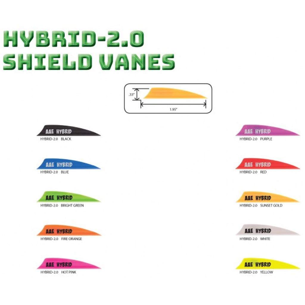 AAE Hybrid 2.0 Shield Cut Vanes