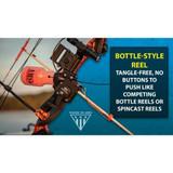 AMS Bowfishing Retriever® Pro Bowfishing Reel Bottle Style Reel