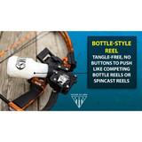 AMS Bowfishing Retriever® TNT Bowfishing Reel Bottle Style Reel