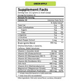 MTN OPS IGNITE Green Apple Nutrition Facts