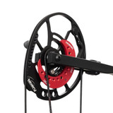 Bowtech Carbon Zion Cam Angle Right - Red