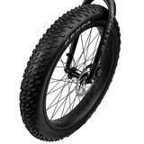 Rambo Pursuit Kenda Krusade 26_ x 4.0_ Fat Tire with Double Wall 80mm Rims