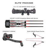 Killer Instinct Swat X1 Crossbow Kit With Crank And Hand Sled Elite Package