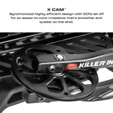 Killer Instinct Swat X1 Crossbow Kit With Crank And Hand Sled X Cam