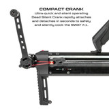 Killer Instinct Swat X1 Crossbow Kit With Crank And Hand Sled Compact Crank