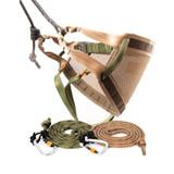 Tethrd Phantom Saddle Kit With 11mm Ropes & Carabiners