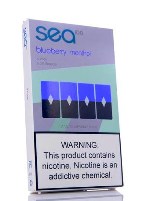 Shop Sea100 Pods Blueberry Menthol Cheap online