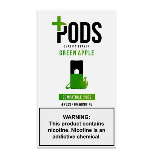 Plus pods Green Apple Cheap