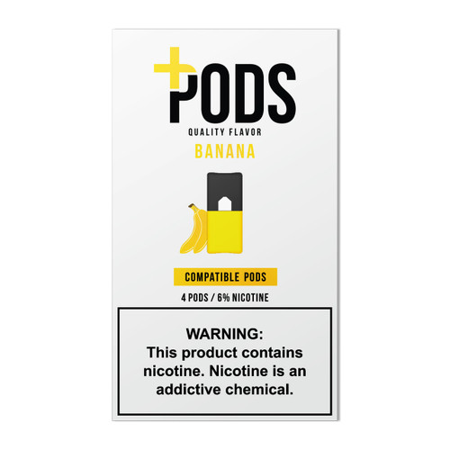 Plus Pods Compatible with JUUL - Banana