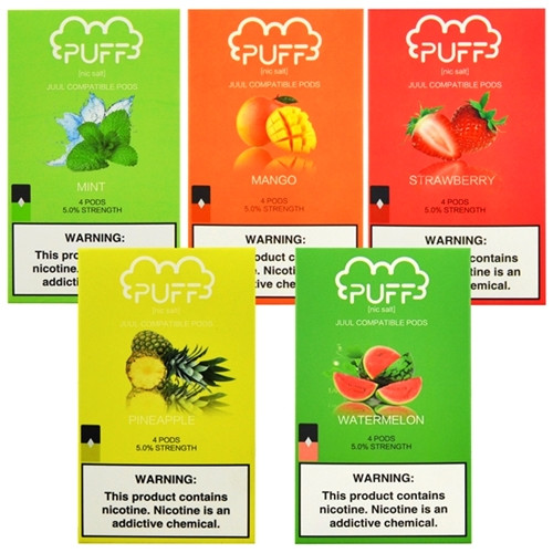 Buy Puff Pods for JUUL 1 pack of 4 Buy 10 and get 1 Free