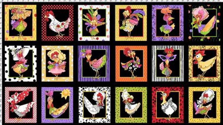Chicken chique panel
