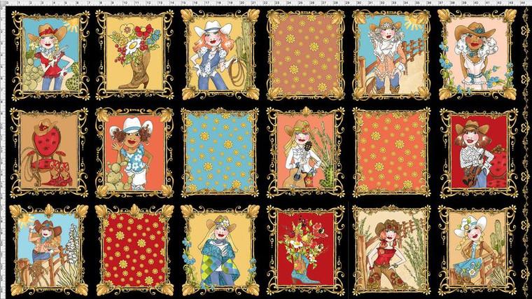 Whoa! Girl Fabric Panel