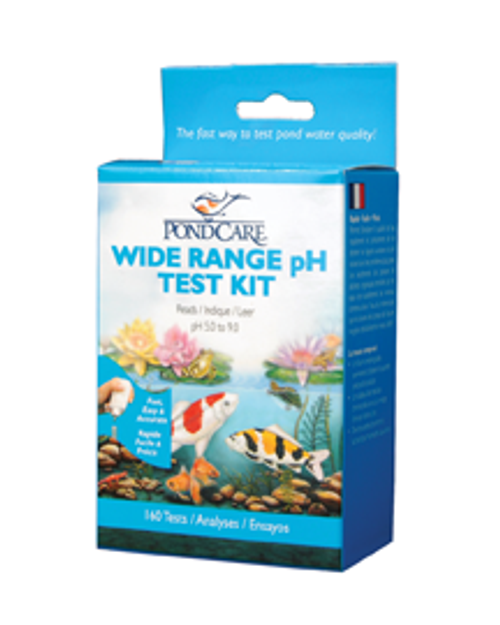Wide Range pH Test Kit