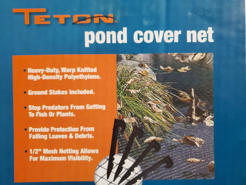 Teton pond cover | pond netting