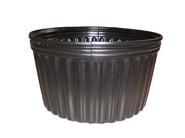 "Solid Round Plant Containers - 2 Gallon (10"" x 6"")"