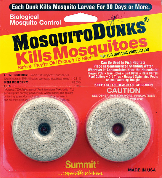 Mosquito Dunks 2 pack