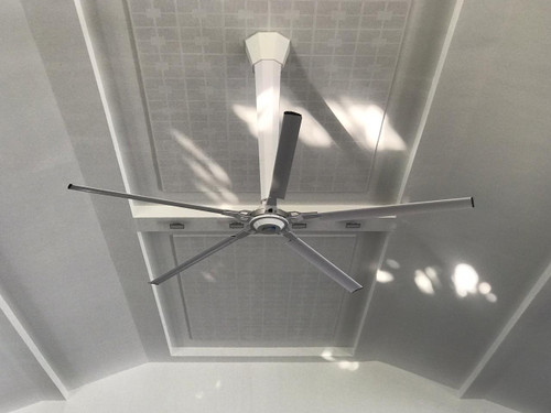 Epoch 24-ft 5-Blades 52 RPM HVLS Fan with Epoch 2.0 Motor and Controller - 140 Nm/ 1.1 kW/ 1.5 hp