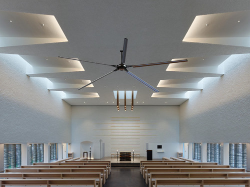 Epoch HVLS Fan installed at Church