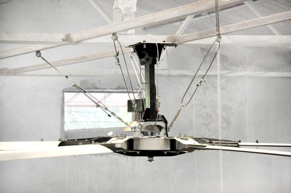 Epoch 1.0 Motor and Controller - 50Nm/1.1kW/1.5hp HVLS Fan Platform