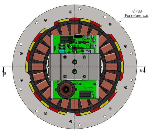 Epoch 1.0 Motor and Controller Combo Top View