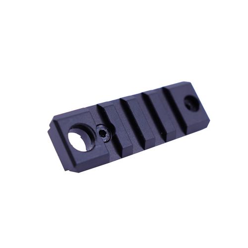 "2"" MLOK Sectional Rail With QD Socket"
