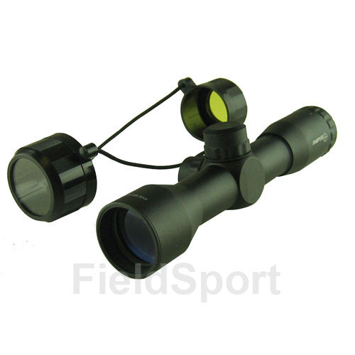 "4x32 Entry lvl Scope, 1"", Mil-Dot, Rings"