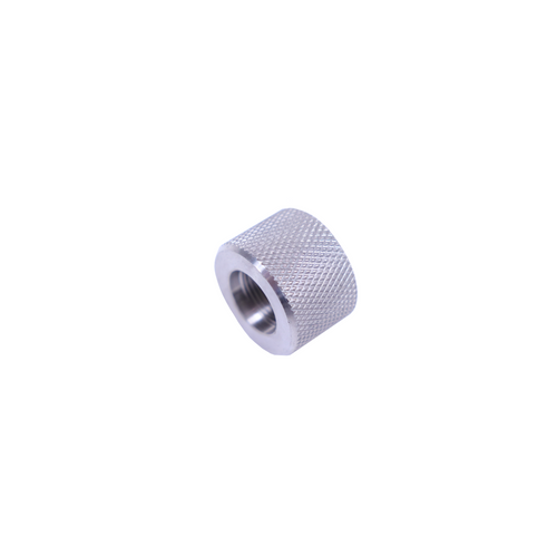 .223 Stainless Steel Thread Protector, 1/2x28 Pitch, .936 Bull Barrel