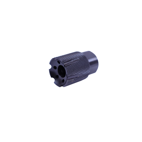 1/2x36 Short Flash Forwarder Knurled 9mm