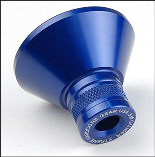Powder Funnel - Blue .338 cal