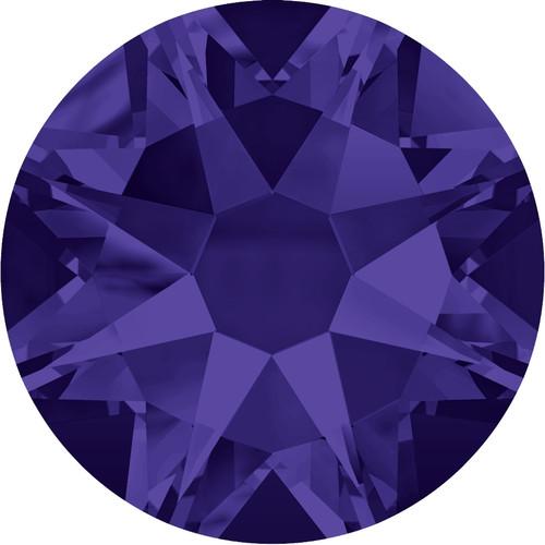 2058 & 2088 Purple Velvet Flatback