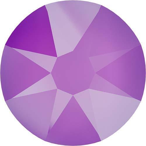 2088 Crystal Electric Violet Flatback
