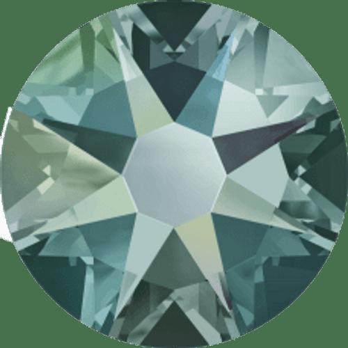 2058 & 2088 Black Diamond Shimmer Flatback