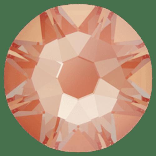 2088 Crystal Electric Orange DeLite Flatback