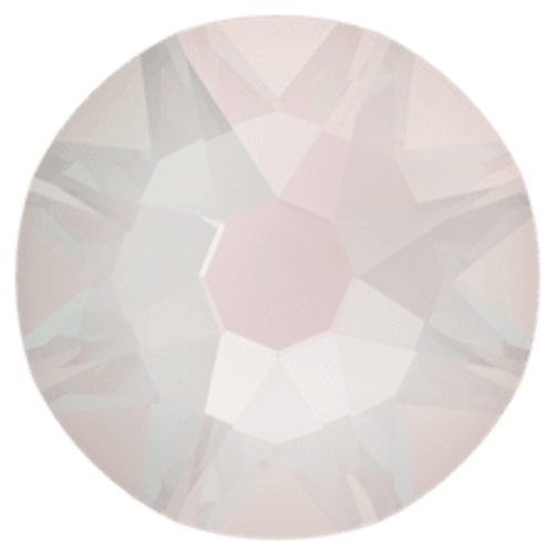 2088 Crystal Electric White DeLite Flatback
