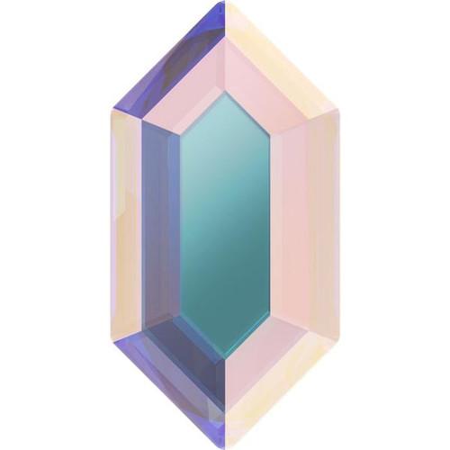 2776 Elongated Hexagon Flatback