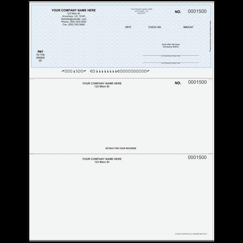 L1500 - Multi-Purpose Top Business Check
