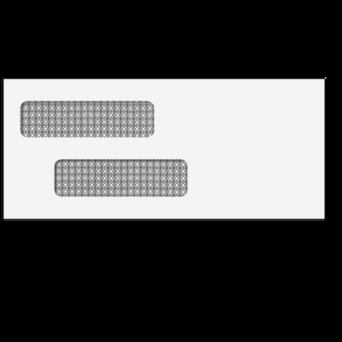 "70031S - Double Window Envelope - 3 7/8"" X 8 7/8"" (Self Seal)"
