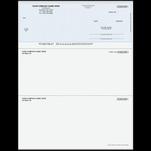 L80981A - Multi-Purpose Top Business Check