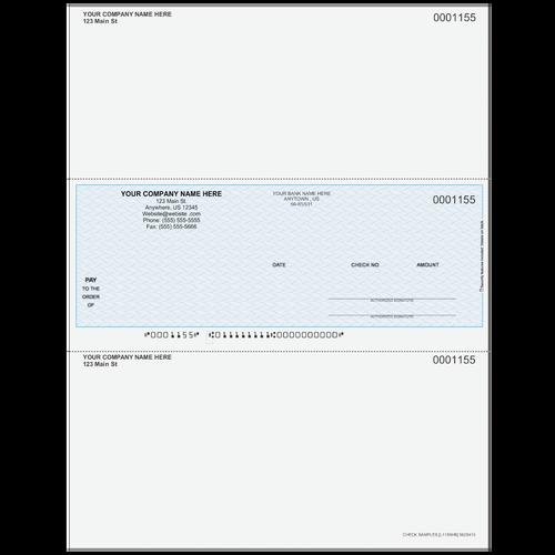 L1155 - Multi-Purpose Middle Business Check