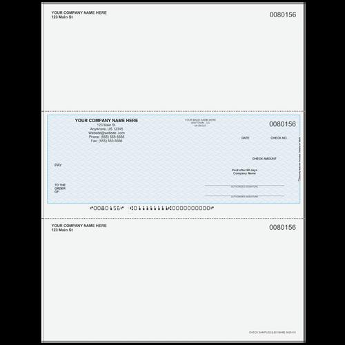 L80156 - Multi-Purpose Middle Business Check