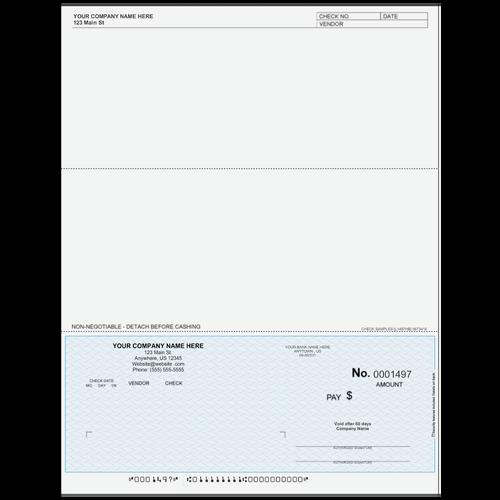 L1497 - Accounts Payable Bottom Check
